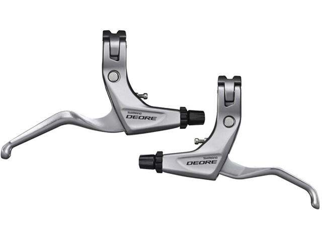 Shimano Deore Trekking BL-T610 Brake Lever pair silver
